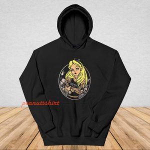 Alice In Wonderland Punk Hoodie
