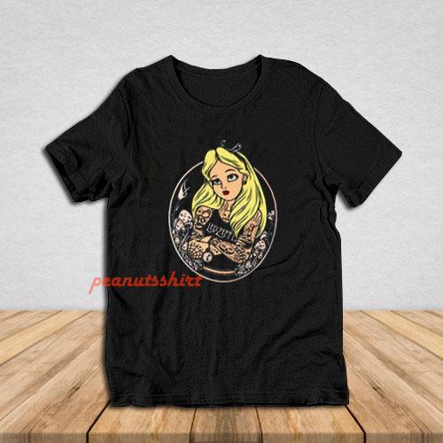 Alice In Wonderland Punk T-Shirt