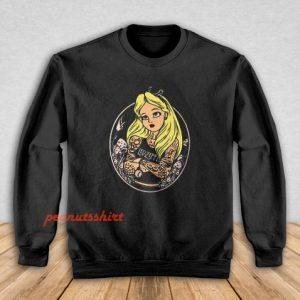 Alice In Wonderland Punk Sweatshirt