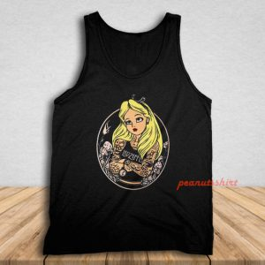 Alice In Wonderland Punk Tank Top
