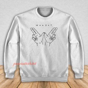 Weezer Hands Sweatshirt