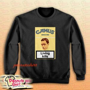 Albert Camus The Stranger Existentialism Sweatshirt Men and Women