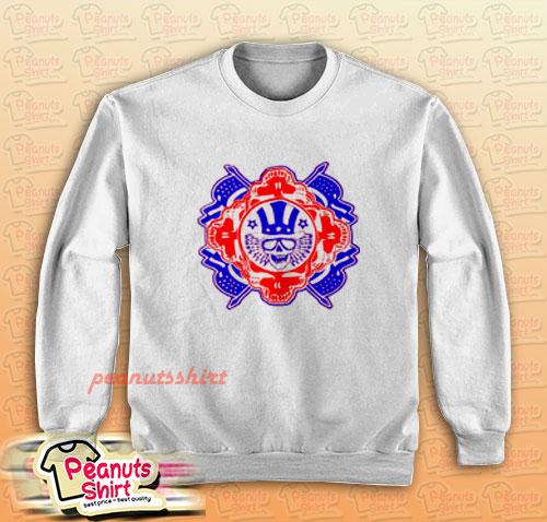 American Flag Stealie Sweatshirt