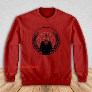 Anonymous Logo Sweatshirt Men and Women