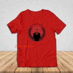 Anonymous Logo T-Shirt For Unisex
