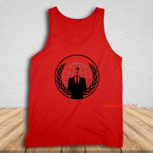 Anonymous Logo Tank Top for Unisex