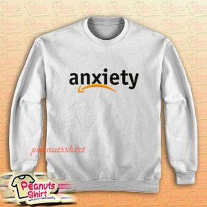 Anxiety Amazon Logo Sweatshirt