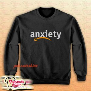 Anxiety Amazon Logo Sweatshirt Men and Women