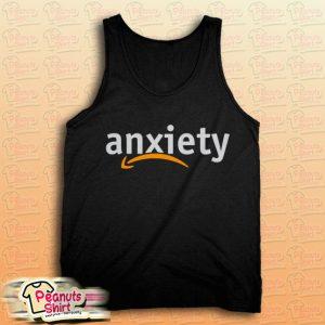Anxiety Amazon Logo Tank Top for Unisex
