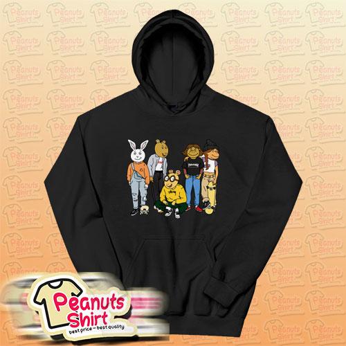 Arthur Squad Hoodie For Unisex