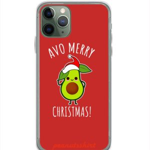 Avo Merry Christmas iPhone Case