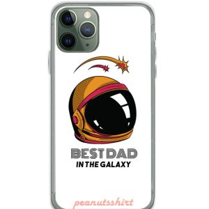 BEST DAD IN GALAXY FATHERS DAY iPhone Case
