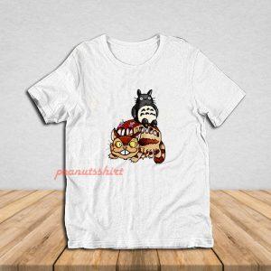 Catbus and Totoro A Fun Ride T-Shirt