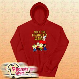 Meet The Peanuts Gang Hoodie For Unisex