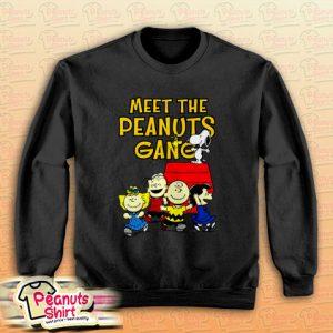 Meet The Peanuts Gang Sweatshirt