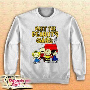 Meet The Peanuts Gang Sweatshirt Men and Women