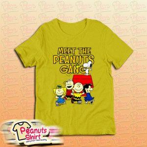 Meet The Peanuts Gang T-Shirt