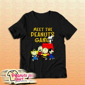 Meet The Peanuts Gang T-Shirt For Unisex