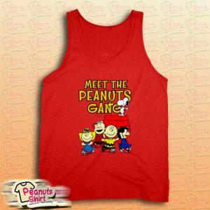 Meet The Peanuts Gang Tank Top