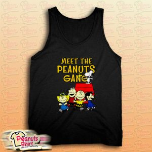 Meet The Peanuts Gang Tank Top for Unisex