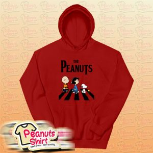 Peanuts Abbey Road Hoodie For Unisex