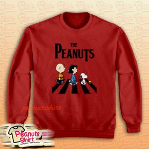 Peanuts Abbey Road Sweatshirt Men and Women