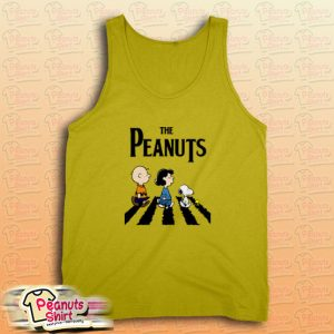 Peanuts Abbey Road Tank Top for Unisex