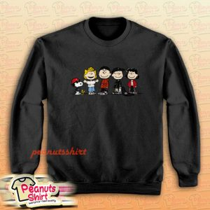 Peanuts Squad Sweatshirt Men and Women