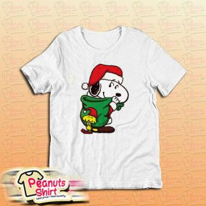 Snoopy Christmas Gifts T-Shirt For Unisex