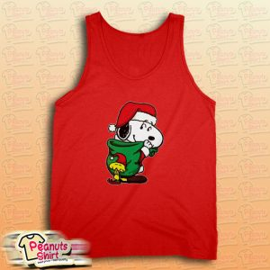 Snoopy Christmas Gifts Tank Top