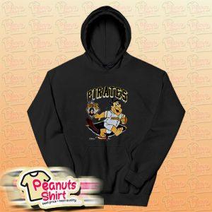 90s pittsburgh pirates fred flintstone Hoodie