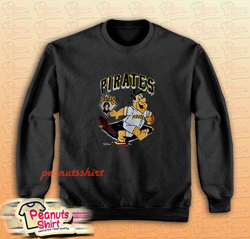 90s pittsburgh pirates fred flintstone Sweatshirt
