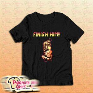 Gaymer finish Him T-Shirt