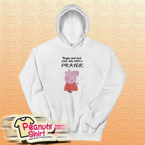 Peppa Pig Praying Hoodie