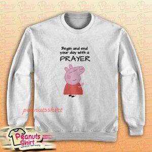 Peppa Pig Praying Sweatshirt
