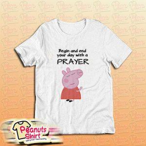 Peppa Pig Praying T-Shirt