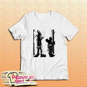 Punk Rock Goofy And Mickey T-Shirt