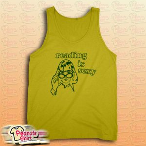 Reading is Sexy Tank Top for Unisex