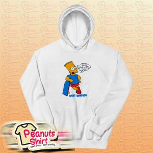 Cool Your Jets Man Bart Simpson Hoodie
