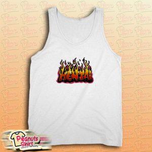 Hentai Flames Tank Top