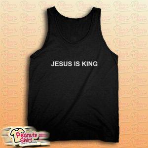 Jesus Is King Tank Top
