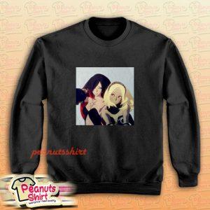 Kat And Raven Gravity Rush Sweatshirt