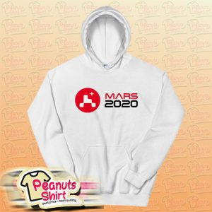 NASA Mars 2020 Perseverance Rover insignia Logo Hoodie for Unisex