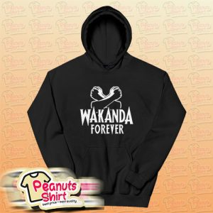 Wakanda Forever Tapestry Hoodie