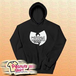 Wakanda Forever Wu Tang Clan Hoodie