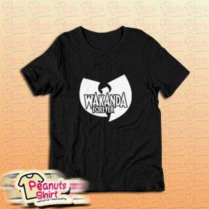 Wakanda Forever Wu Tang Clan T-Shirt