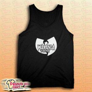 Wakanda Forever Wu Tang Clan Tank Top
