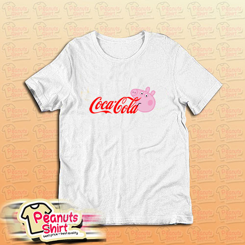 Coca Cola Coke X Peppa Pig Parody T-Shirt