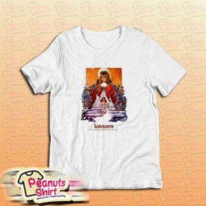Labyrinth David Bowie Goblin King Movie T-Shirt