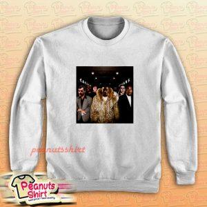 Teddy Riley Vs Babyface Parody Sweatshirt